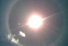 Fenomena Halo Matahari di Kota Klaten