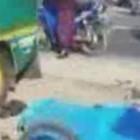 Minibus Terguling Akibat Tertabrak Dua Sepeda Motor, Tiga Orang Tewas di Tempat