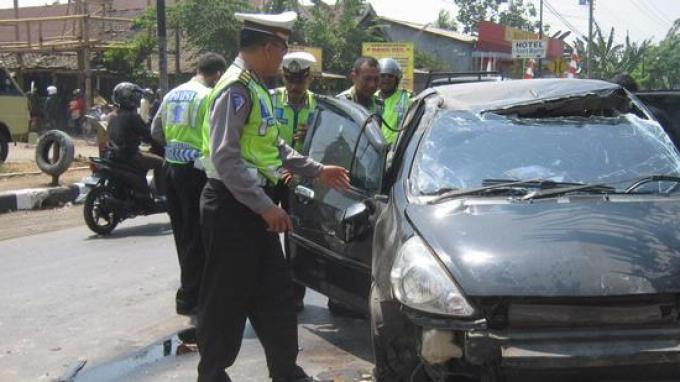 Kecelakaan pada Arus Mudik Lebaran 2014