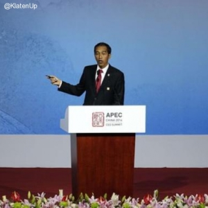 Jokowi Pidato di APEC