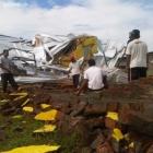 Akibat Puting Beliung Satu Rumah di Wonogiri Ambruk