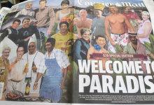 Jokowi digambarkan sebagai 'tukang masak' di headline Koran Australia