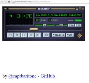 winamp Kalis HTML5