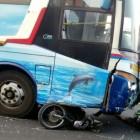 Bus Sugeng Rahayu Tabrak Sebuah Motor, Dua Orang Tewas