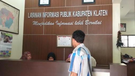 Pusat informasi publi kab klaten