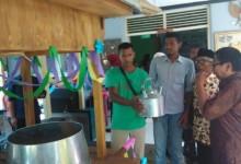Salurkan Dana Desa, Pemdes Candirejo Beri Gerobak Angkringan