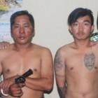 Dua Rampok Ditendang Polwan dan Ditangkap