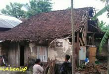 Bantuan BPBD Terganjal Lahan, Rumah Mbah Joyo Ambruk Duluan