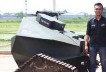 Mahasiswa ITS Berhasil Membuat Robot Tank Tanpa Awak