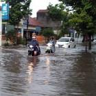 Hujan Deras Beberapa Lokasi di Klaten Tergenang Air Cukup Tinggi