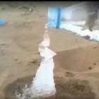 """Netizen Dihebohkan Video """"Air Menjadi Es di Padang Tandus"""""""