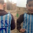 Messi Akhirnya Wujudkan Mimpi Bocah 'Kantong Kresek' Di Afghanistan