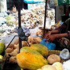 TPA Sementara Tutup Sampah di Pasar Klaten Menumpuk