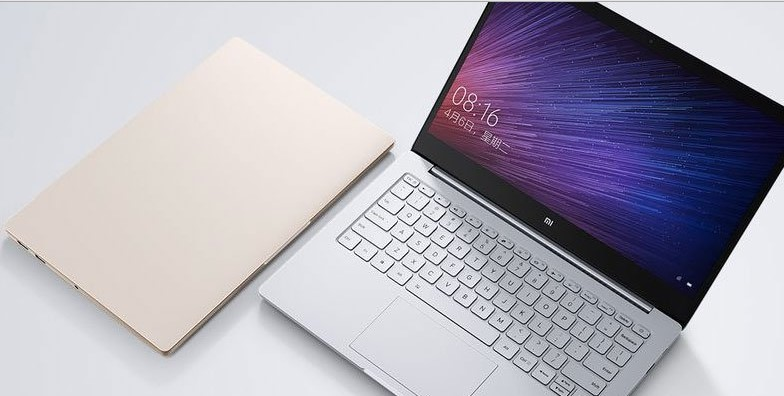 penampakan notebook besutan Xiaomi yang diberinama Mi Notebook Air.
