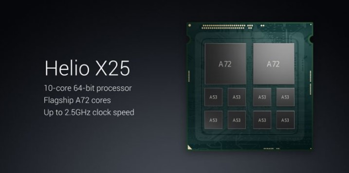 Prosesor Xiaomi Redmi Pro dengan 10-core