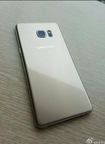 Foto asli Galaxy note 7 dari belakang