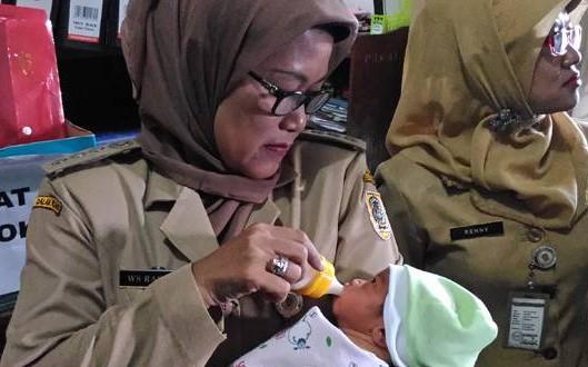 Penemuan Bayi di Kuncen Ceper