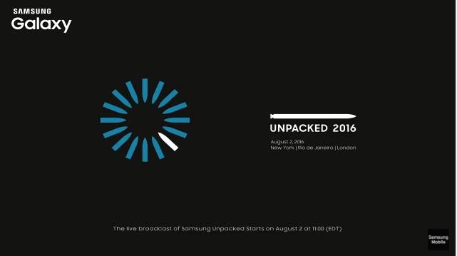 Samsung Galaxy Unpacked 2016